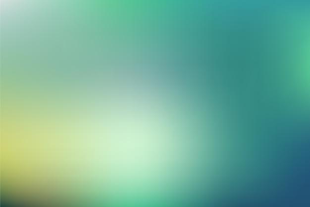 緑の色調のグラデーションの背景 無料ベクター