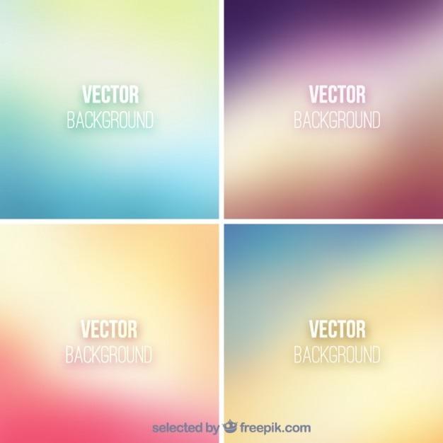 Gradient backgrounds Free Vector