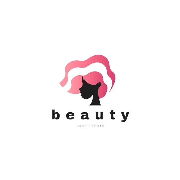 Логотип салона красоты градиент Бесплатные векторы
