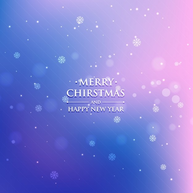 Gradient christmas background