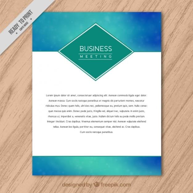 Gradient company letterhead Vector – Free Company Letterhead