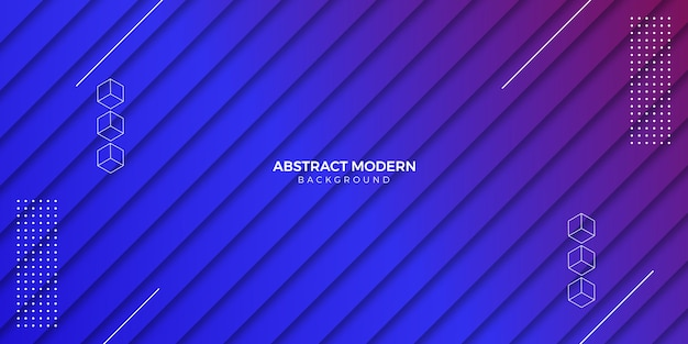 Gradient geometric background Premium Vector