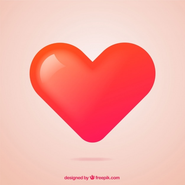 Gradient heart background