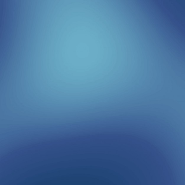 Gradient in blues tones background