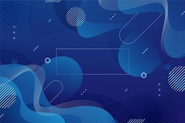 Gradient liquid abstract background Free Vector