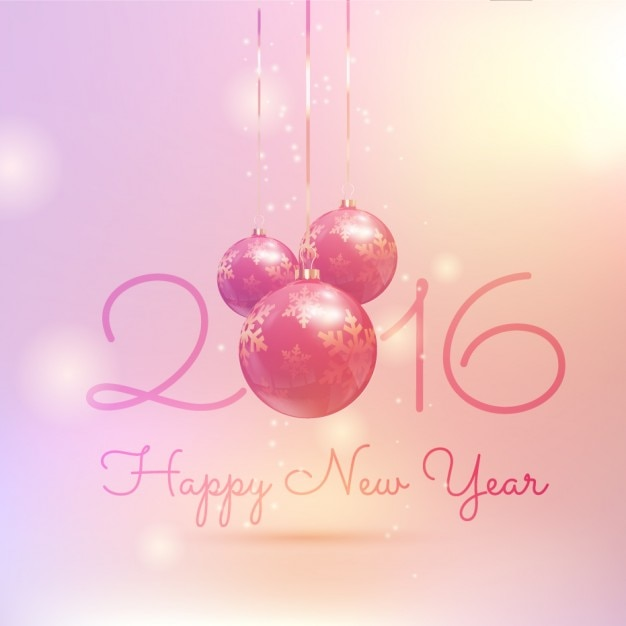 Gradient new year background in pink\ tones