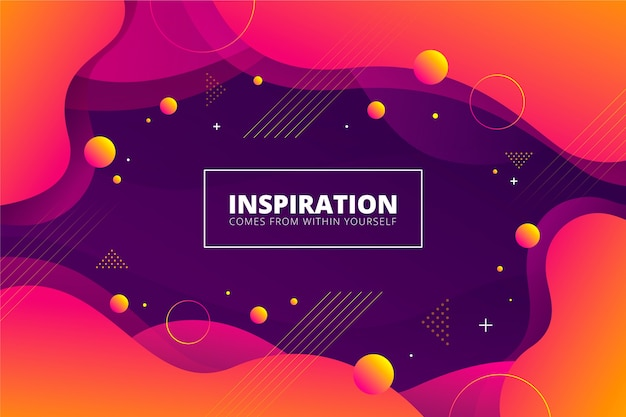 Gradient orange and violet abstract background Free Vector