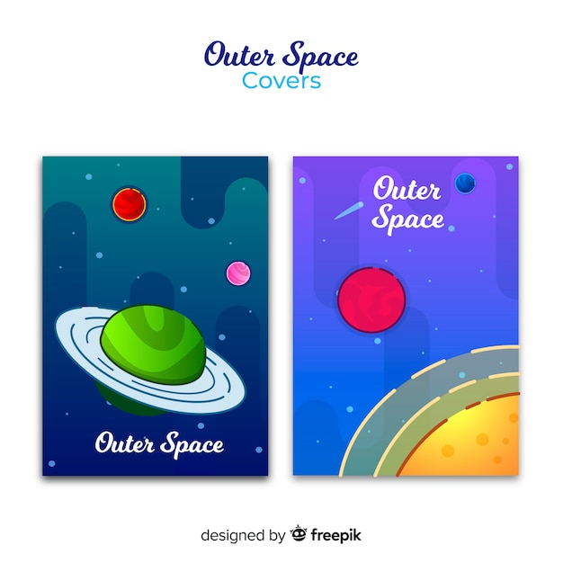 Gradient outer space covers Free Vector