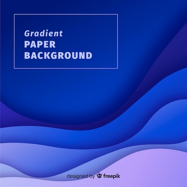 Gradient paper background Free Vector