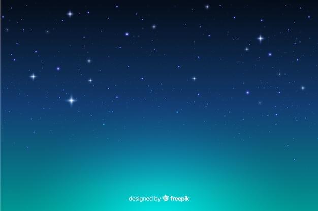 그라디언트 별이 빛나는 밤 장식 배경 무료 벡터