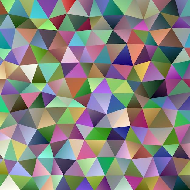 Gradient triangle background design Premium Vector