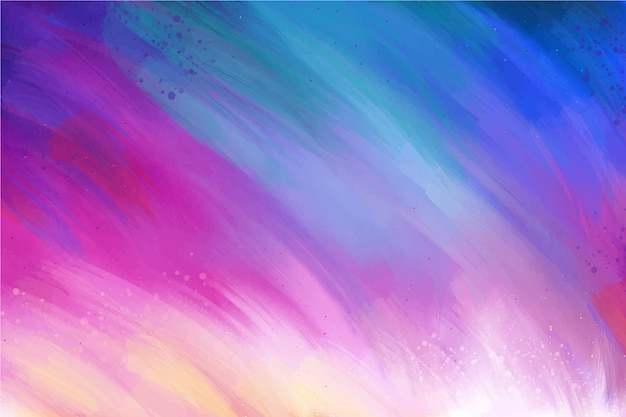 Градиент фиолетовый и синий цвета фона с копией пространства Бесплатные векторы