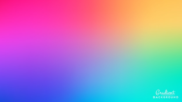 Gradient wallpaper background Free Vector