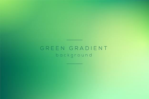 녹색 색조의 그라디언트 벽지 프리미엄 벡터