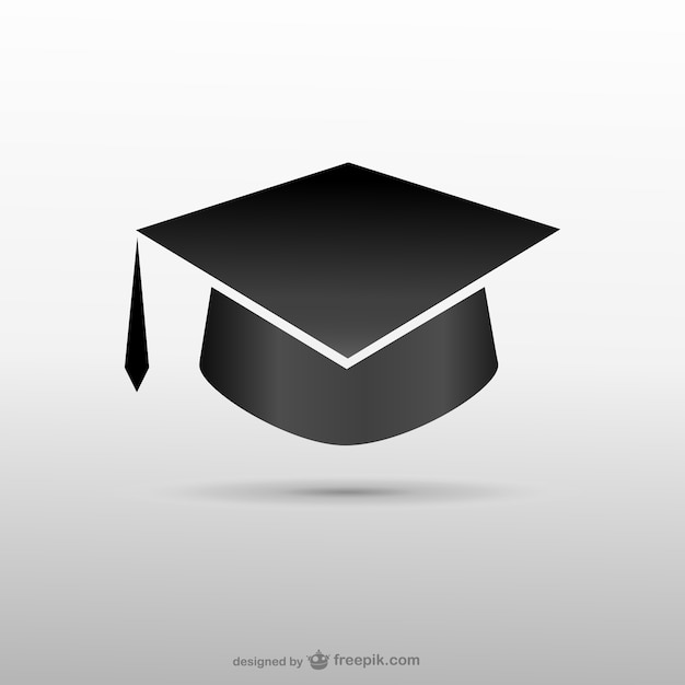 Graduation hat icon Vector | Free Download
