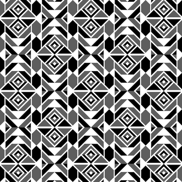 Graphic design decoration abstract seamless pattern Premium Vector