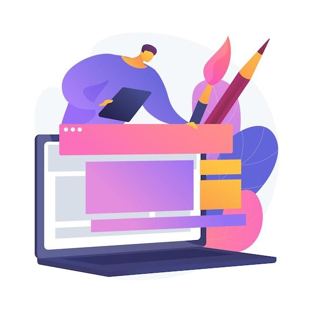 그래픽 디자인 비디오 튜토리얼. 전통 미술 인터넷 코스. painter 온라인 마스터 클래스. 웹 디자이너 거리 클래스. 회화, 전자 학습, 교육. 무료 벡터
