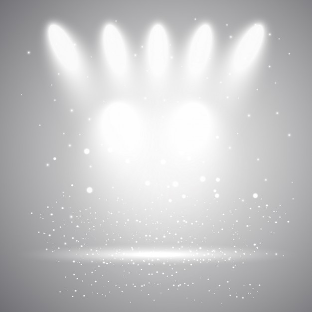 gray background with lights_1048 3196