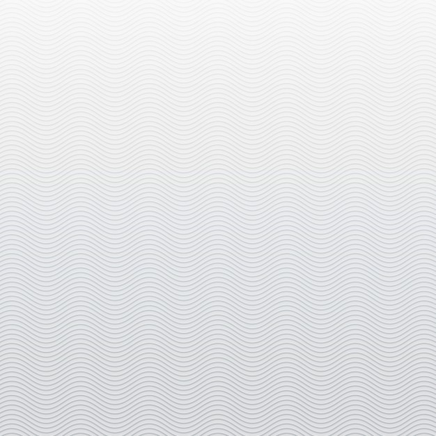 Gray background with waves Free Vector