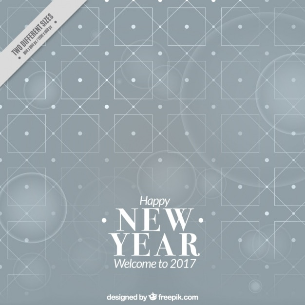 gray geometric background for new year