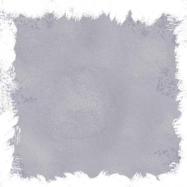 Gray grunge background with white border Free Vector