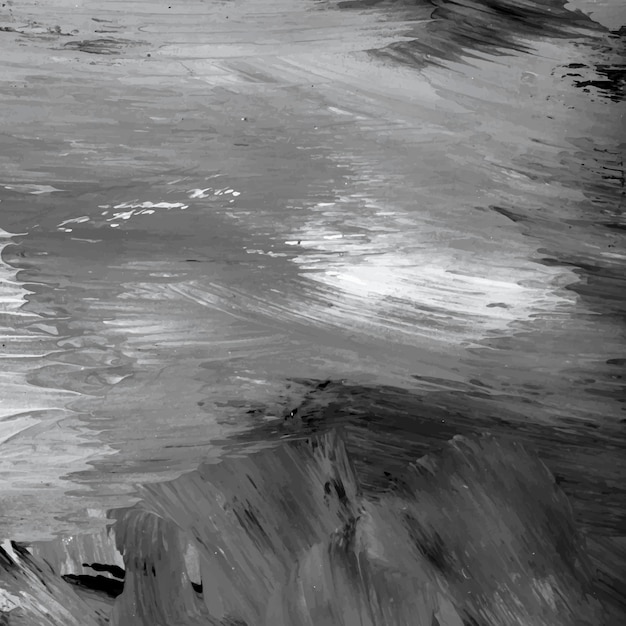 Gray painted wallpaper Free Vector