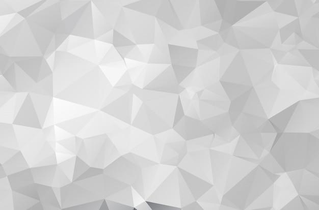 Gray polygonal mosaic paper background Premium Vector