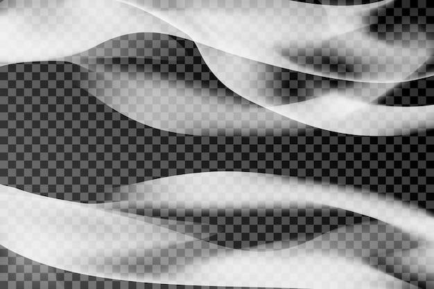 Gray smoke background Free Vector