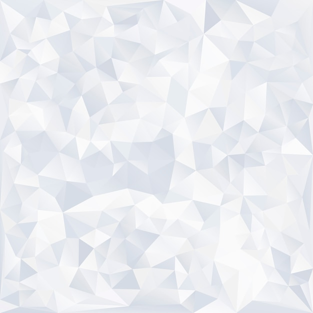 Gray and white crystal textured background Free Vector
