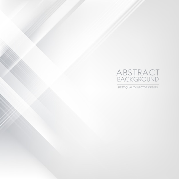 Gray and white gradient abstract background Free Vector