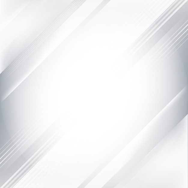 Gray And White Gradient Abstract Background Vector