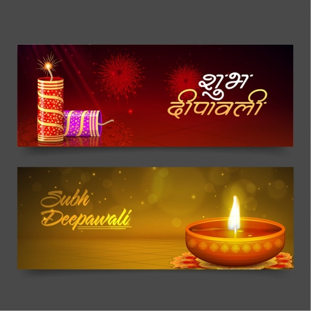 Great banners with traditional diwali items vector premium download great banners with traditional diwali items premium vector m4hsunfo