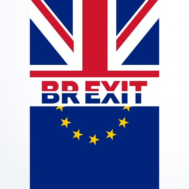 Great britian exit vote decision in brexit referendum Free Vector