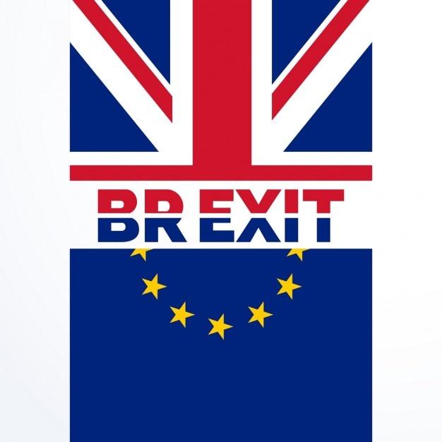 Большое решение британия выход голосование в brexit референдуме Бесплатные векторы
