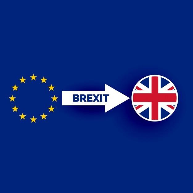 Grande britian uscendo dell'unione europea Vettore gratuito