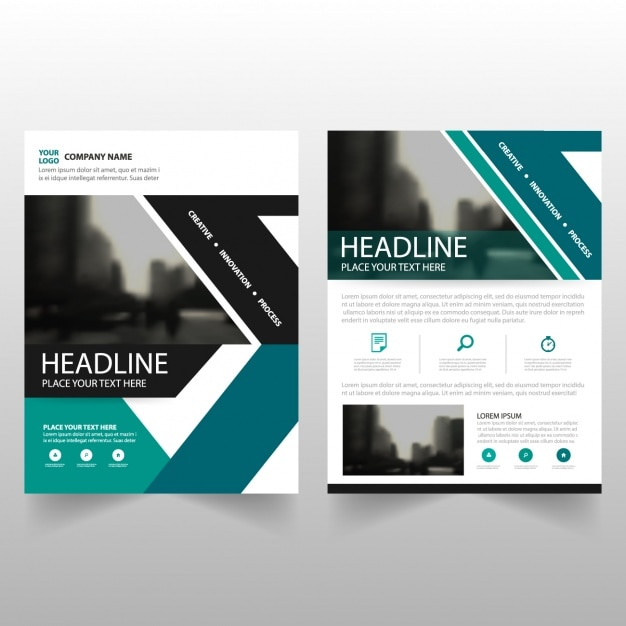 great flyers for business free vector