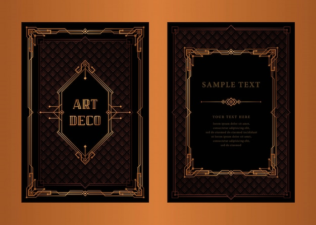 The great gatsby vector Premium Vector