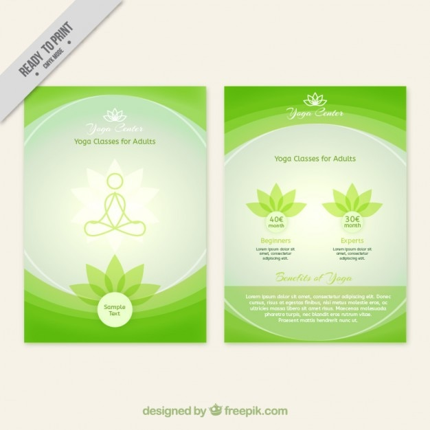 Yoga Brochures