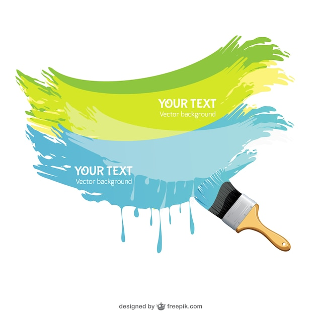 green and blue paint brush vector free download rh freepik com paint splatter vector free download free download vector paint