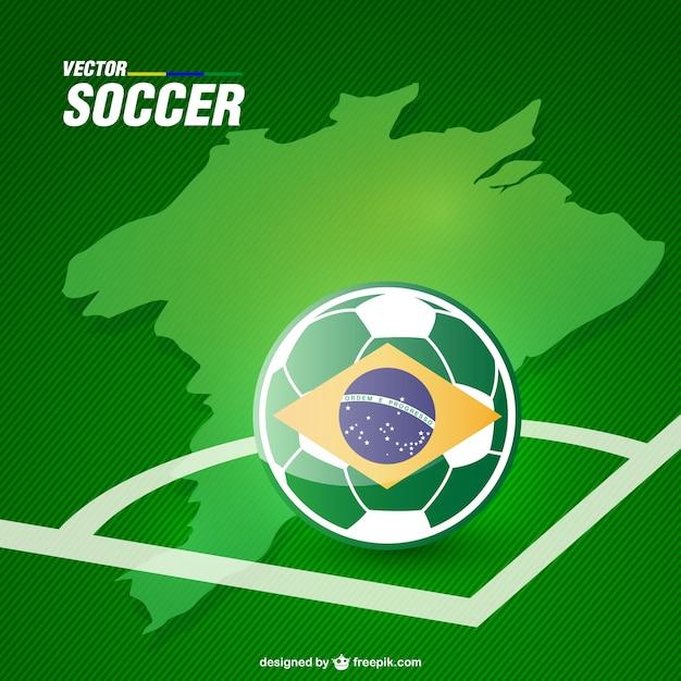 Grafica soccer vettoriale gratis per il download Vettore gratuito