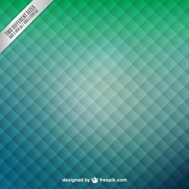 Зеленый фон с квадратами рисунком Бесплатные векторы