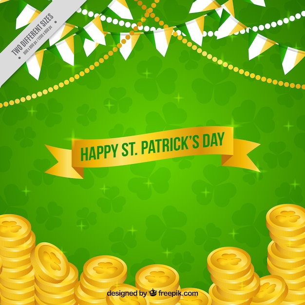 St Patricks Day Background With C Royalty Free Cliparts
