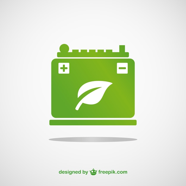 Green Battery Vector Vector Free Download