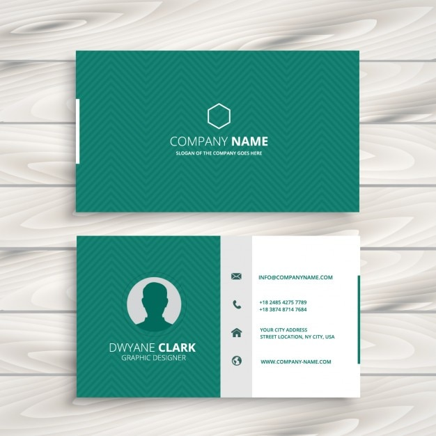 Creative environmental business cards gallery card design and card free green business cards gallery card design and card template green business card with zigzag pattern accmission