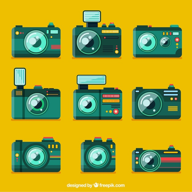 Green camera collection
