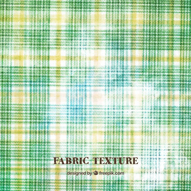 Green Checkered Tablecloth Background Free Vector