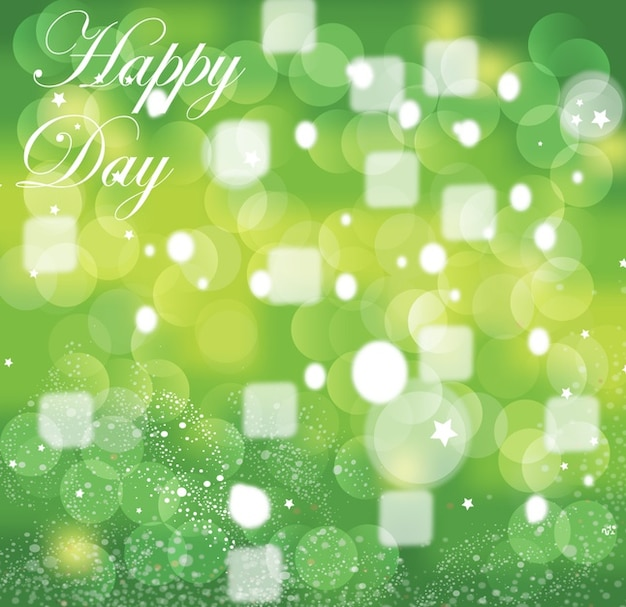 Green circle cool background greeting card Vector : Free ...