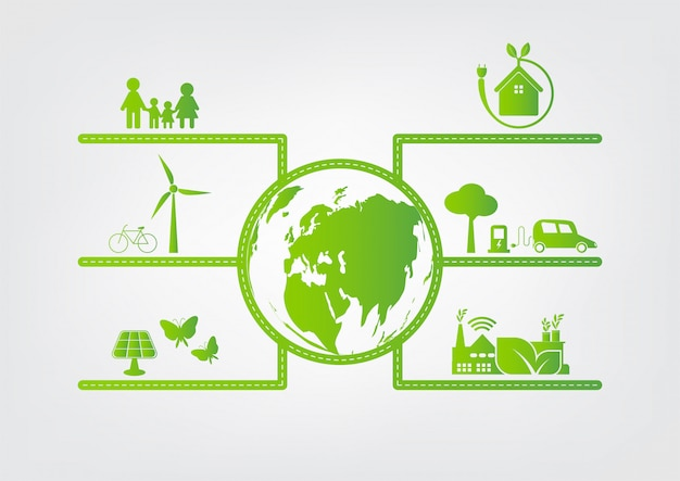 Green Cities Help The World With Eco Friendly Concept Ideas