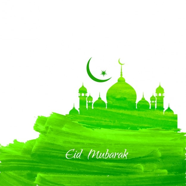 Mosque Green Islamic Background