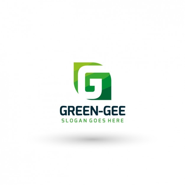 Green Company Logo Template